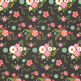 Echo Park Papers - I Heart Crafting - Fancy Floral - 2 Sheets