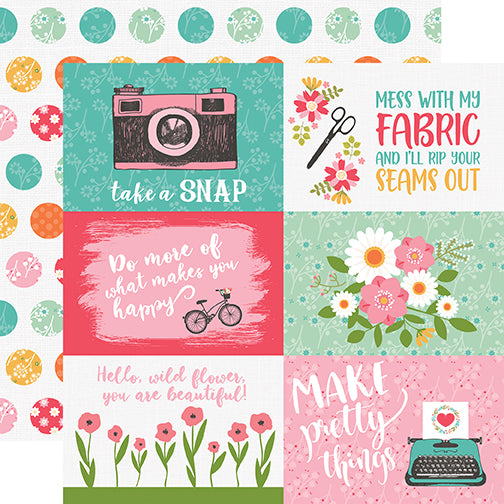 Echo Park Cut-Outs - I Heart Crafting - 4x6 Journaling Cards