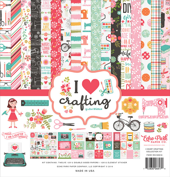 Echo Park Collection Kit - I Heart Crafting