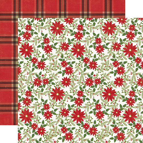 Echo Park Papers - I Love Christmas - Christmas Joy - 2 Sheets