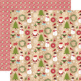 Echo Park Papers - I Love Christmas - Here Comes Santa - 2 Sheets