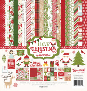 Echo Park Collection Kit - I Love Christmas