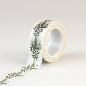 Echo Park Washi Tape - I Love Christmas - Sprigs