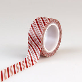 Echo Park Washi Tape - I Love Christmas - Candy Cane Stripes