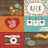 Echo Park Cut-Outs - I Love Family - 4x6 Journaling Cards