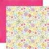 Echo Park Papers - I Love Sunshine - Pinwheel Afternoon - 2 Sheets