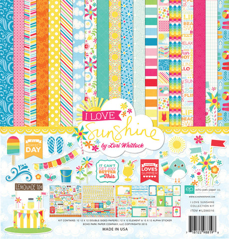 Echo Park Collection Kit - I Love Sunshine