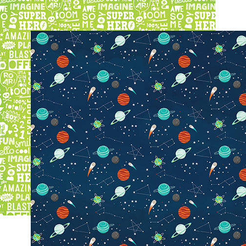 Echo Park Papers - Imagine That - Boy - Lost In Space - 2 Sheets