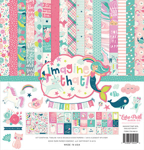 Echo Park Collection Kit - Imagine That - Girl