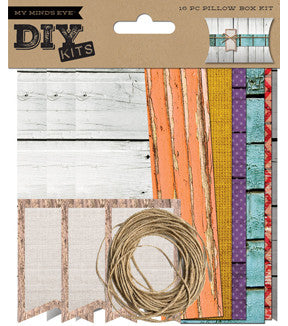 My Mind's Eye DIY Kit - Pillow Box - Picket Fences