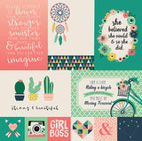 Echo Park Cut-Outs - Just Be You - 4x6 Journaling Cards