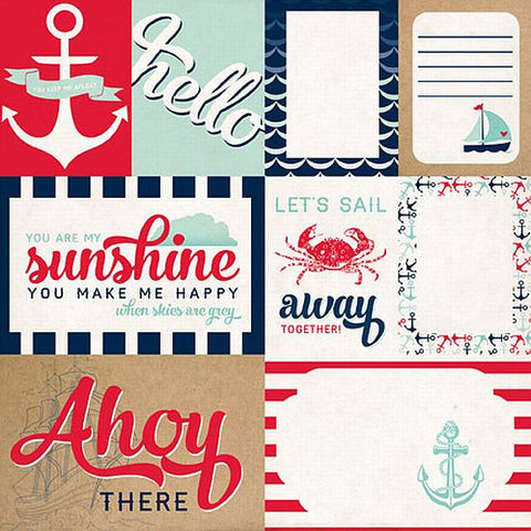 Carta Bella Cut-Outs - Ahoy There - Let's Sail