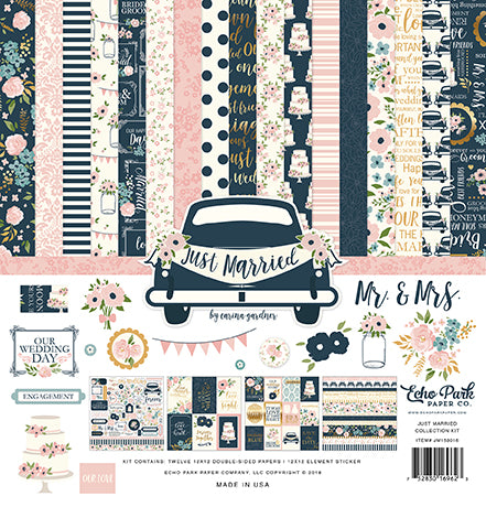 Echo Park Collection Kit - Just Married