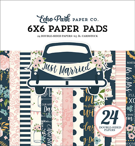Echo Park 6x6 Pad - Just Married