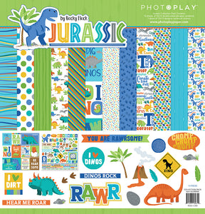 Photo Play Paper Collection Kit - Jurassic