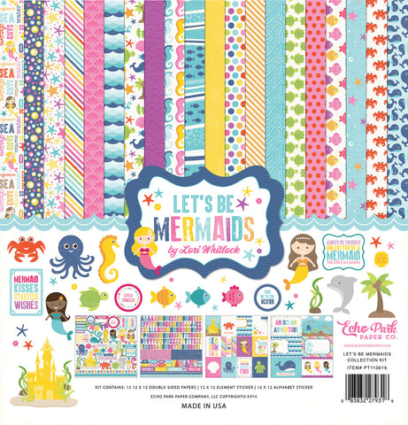 Echo Park Collection Kit - Let's Be Mermaids