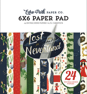 Echo Park 6x6 Pad - Lost In Neverland