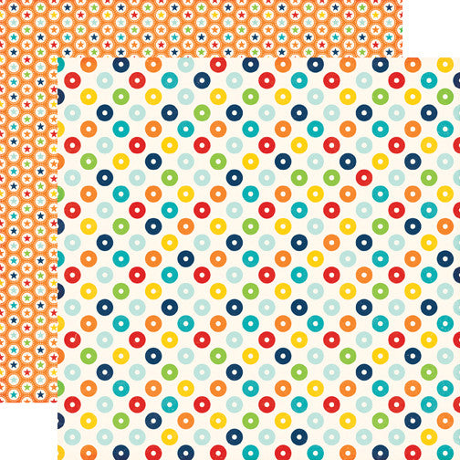 Echo Park Papers - Little Man - Dots - 2 Sheets