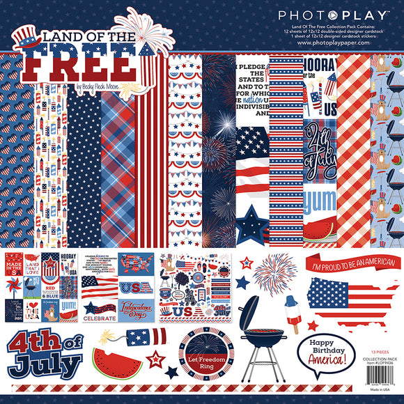 Photo Play Paper Collection Kit - Land of the Free