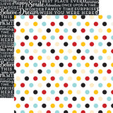 Echo Park Papers - Magical Adventure - Multi Dots - 2 Sheets