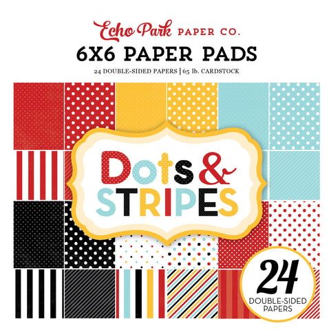 Echo Park 6x6 Pad - Magical Adventure - Dots & Stripes
