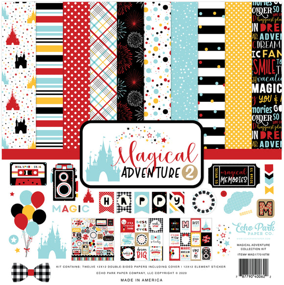 Echo Park Collection Kit - Magical Adventure 2