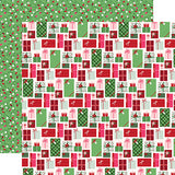Echo Park Papers - Merry & Bright - Merry Presents - 2 Sheets