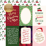 Echo Park Cut-Outs - Merry & Bright - 4x6 Journaling Cards - Foil