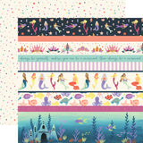 Echo Park Cut-Outs - Mermaid Dreams - Border Strips