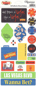 Reminisce Stickers - It's Vegas Baby - What Happens