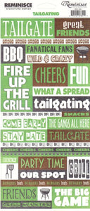 Reminisce Stickers - Tailgating - Great Friends