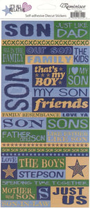 Reminisce Stickers - It's All Relative - Son