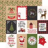 Echo Park Cut-Outs - My Favorite Christmas - 3x4 Journaling Cards