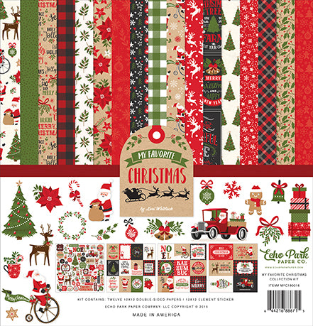 Echo Park Collection Kit - My Favorite Christmas