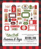 Echo Park Frames & Tags Die-Cuts - My Favorite Christmas