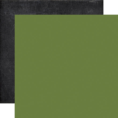 Echo Park Papers - My Favorite Fall - Green/Chalkboard - 2 Sheets