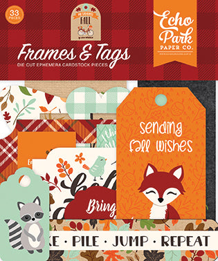 Echo Park Frames & Tags Die-Cuts - My Favorite Fall