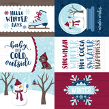 Echo Park Cut-Outs - My Favorite Winter - 4x6 Journaling Cards