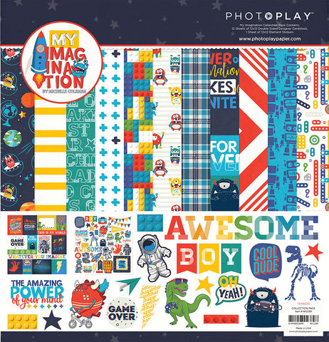 Photo Play Paper Collection Kit - My Imagination