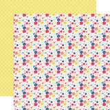 Echo Park Papers - I Am Mom - Mini Floral - 2 Sheets