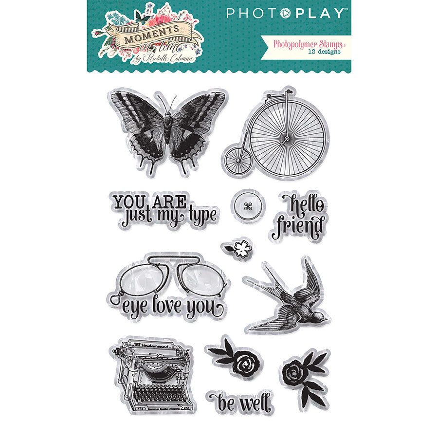 Photo Play Stamp and Die Set - Moments In Time