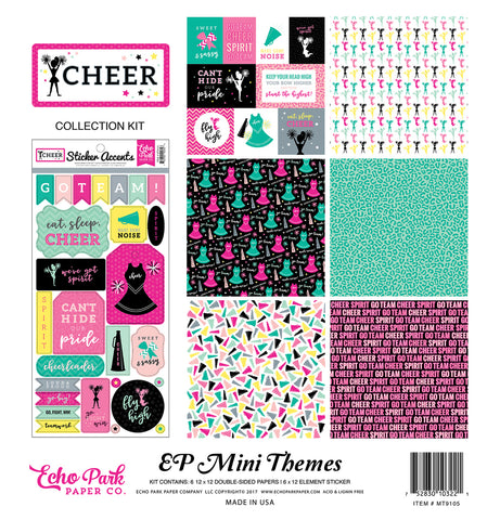 Echo Park Mini Theme Collection Kit - Cheer