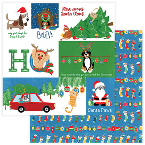 Photo Play Cut-Outs - The Muttcracker - Santa Paws