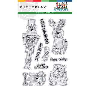 Photo Play Clear Stamp Set - The Muttcracker