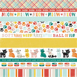 Echo Park Cut-Outs - Meow - Cat Border Strips