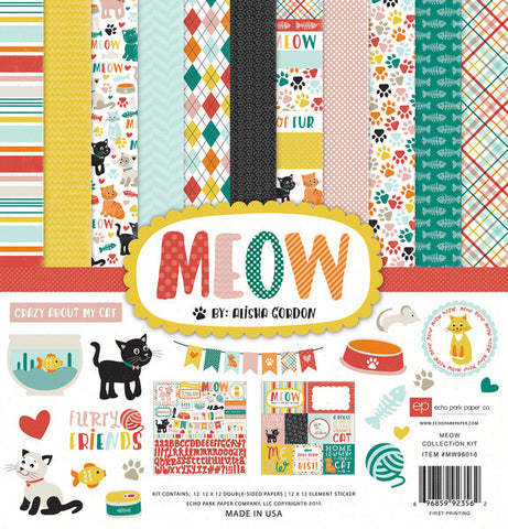 Echo Park Collection Kit - Meow