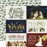 Echo Park Cut-Outs - Oh Holy Night - 4x6 Journaling Cards