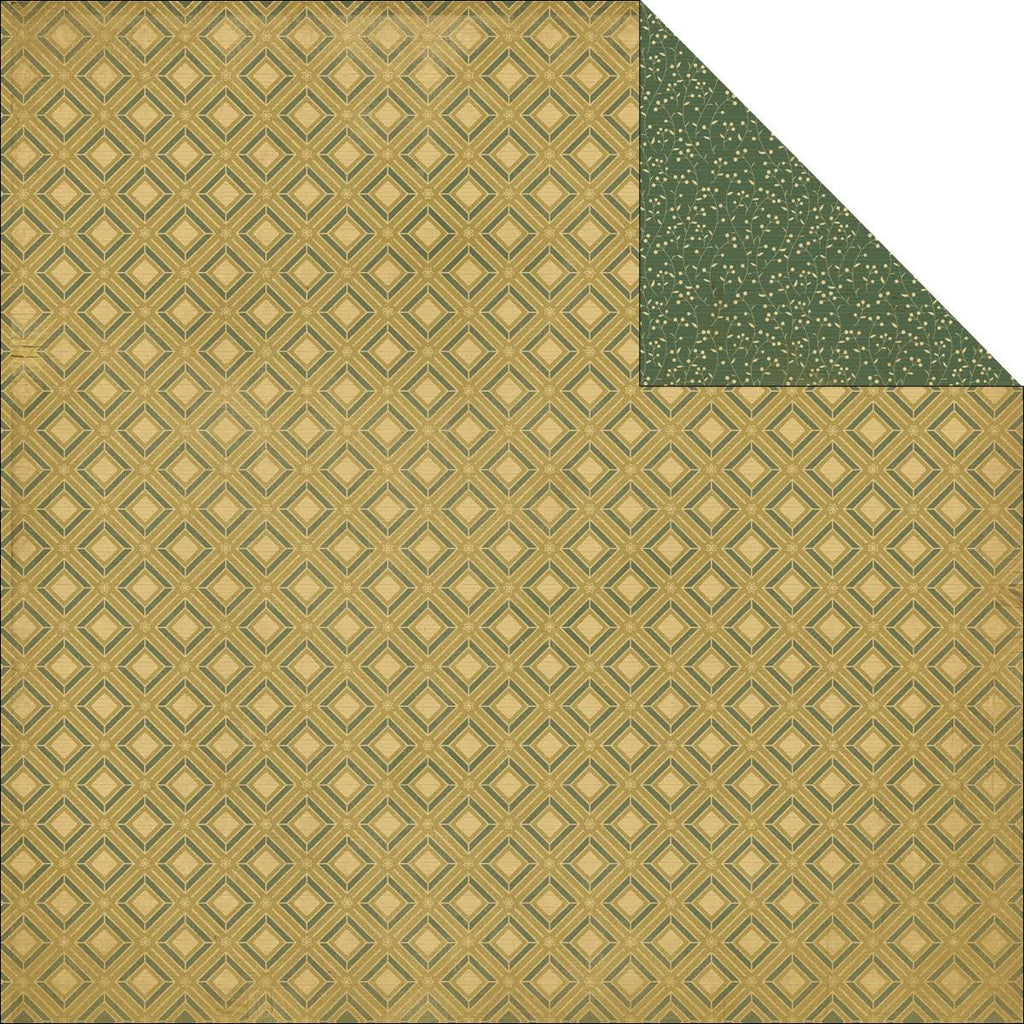 Kaisercraft Papers - Merry & Bright - Twinkling - 2 Sheets