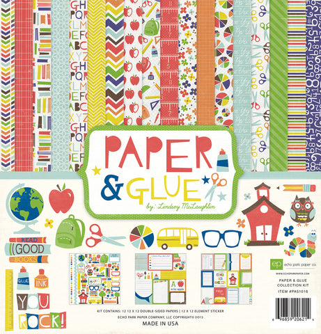 Echo Park Collection Kit - Paper & Glue