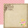 Echo Park Papers - Petticoats - Elegant Label - 2 Sheets